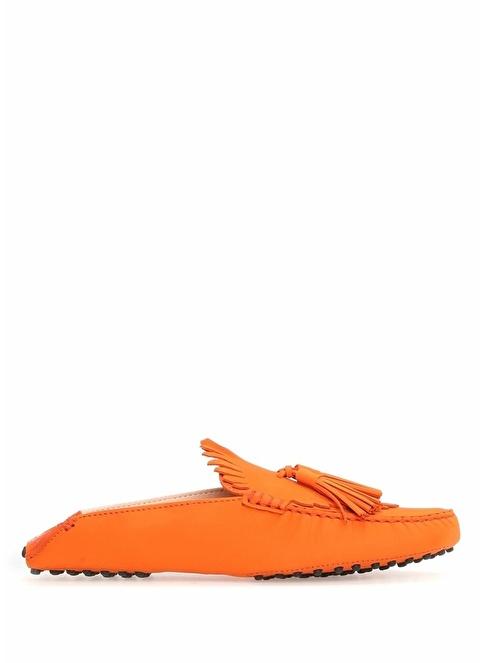 Tod's Terlik Oranj